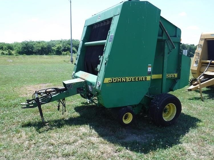 John Deere 566 Baler-Round For Sale