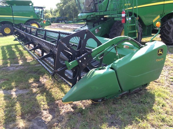 2012 John Deere 635FD Header-Draper/Flex For Sale