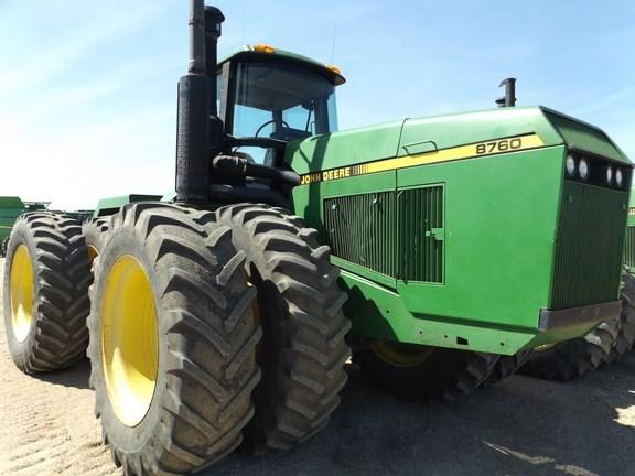 1992 John Deere 8760 Tractor For Sale
