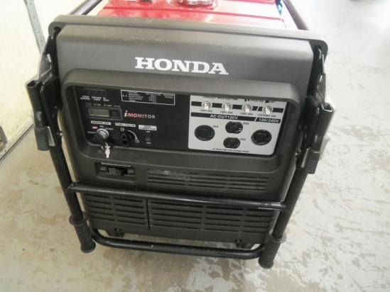 2012 Honda EU6500is Generator For Sale