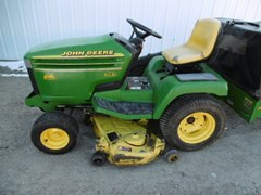 Riding Mower For Sale 1996 John Deere 345 , 20 HP