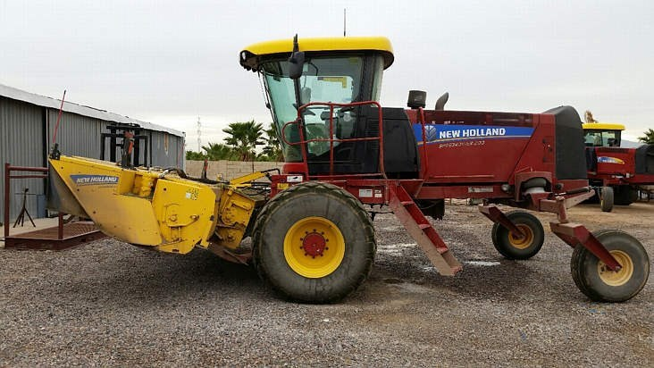 2014 New Holland 200 Windrower-Self Propelled For Sale