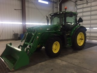 2013 John Deere 6125R Tractor For Sale