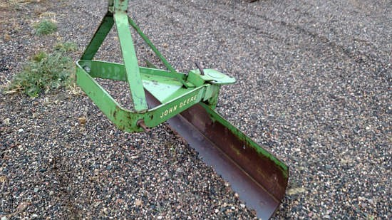 1987 John Deere 35 Blade Rear 3pt For Sale