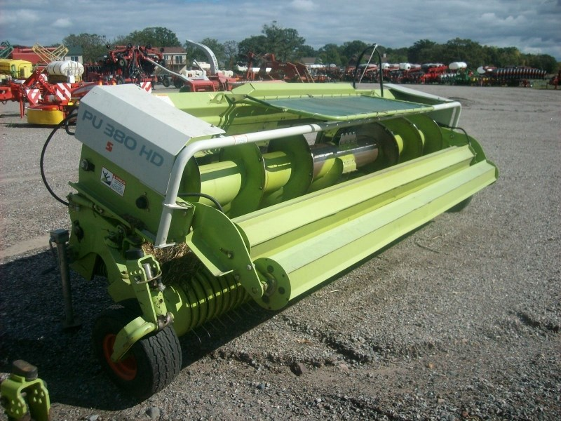 2008 Claas PU380 HD Forage Head-Windrow Pickup For Sale