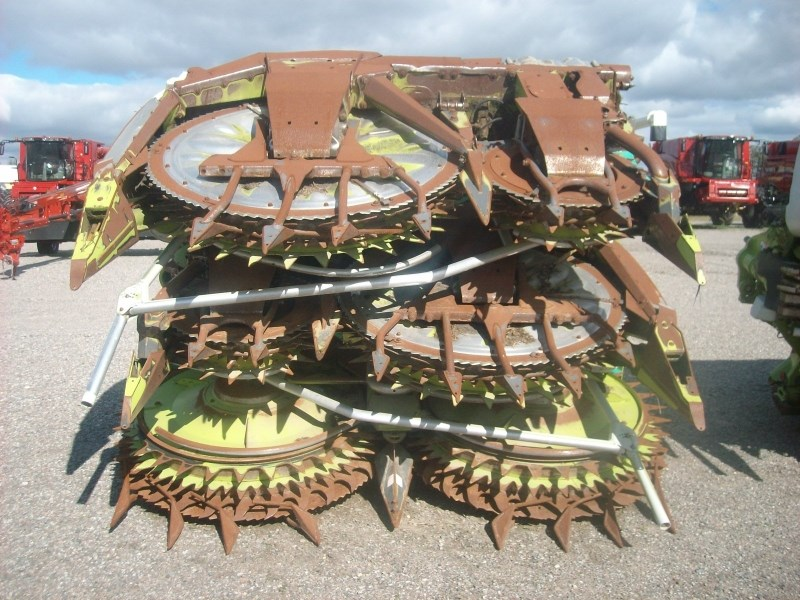2012 Claas ORBIS 750 Forage Head-Row Crop For Sale