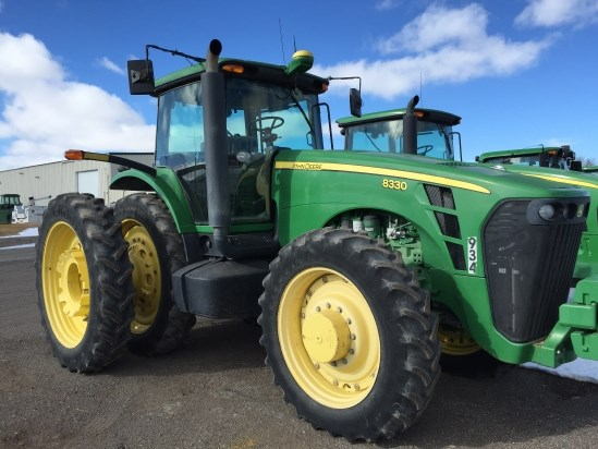 2007 John Deere 8330 Tractor For Sale