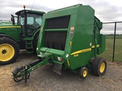 Baler-Round For Sale 2010 John Deere 568