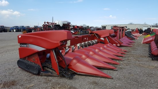 2008 Case IH 3408 8R30 Header-Corn For Sale