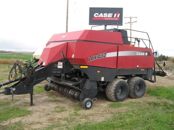 2004 Case IH LBX432 Baler-Square For Sale