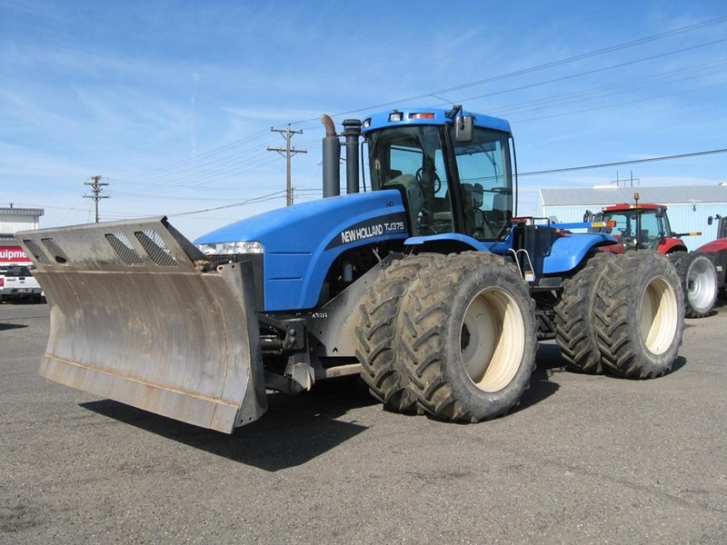 2002 New Holland TJ375 HD Tractor For Sale