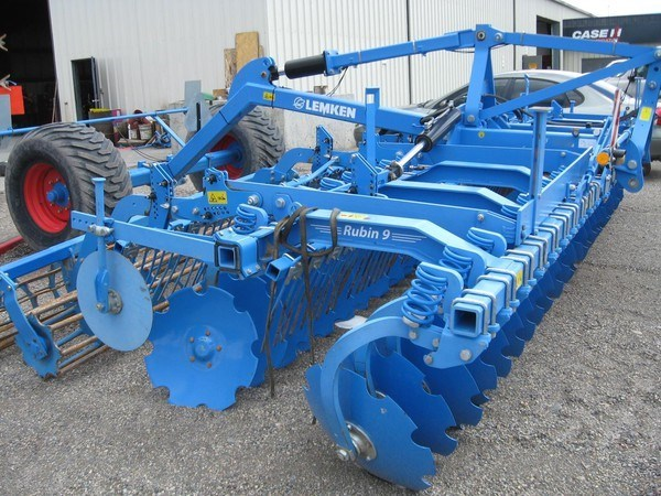 2012 Lemken RUBIN 9/600KU Disk Harrow For Sale