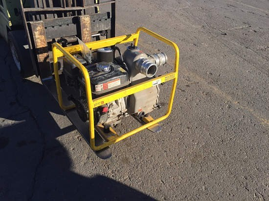 2011 Wacker PT3A Water Pump For Sale