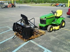 Riding Mower For Sale:  2002 John Deere LX266