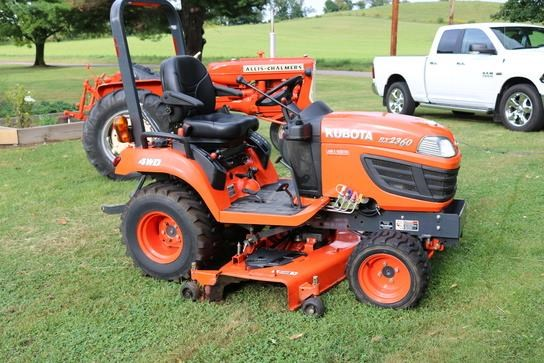 Kubota Bx2360 Front Axle : Kubota bx tractor for sale z m ag and turf