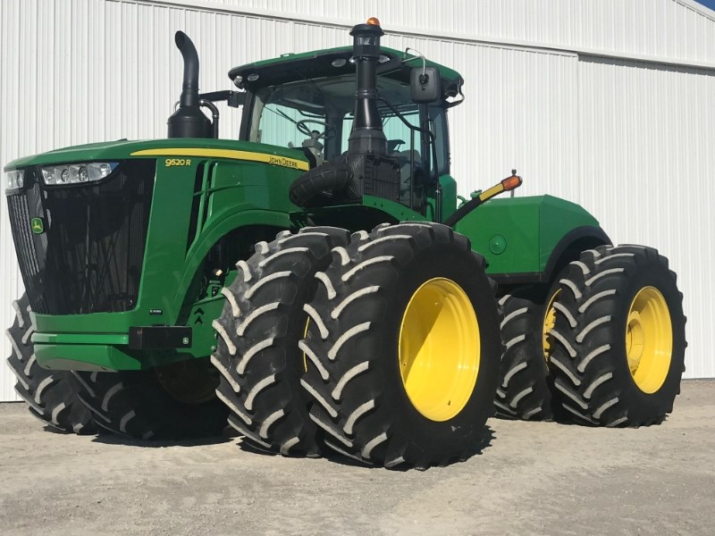 2015 John Deere 9520R Tractor For Sale
