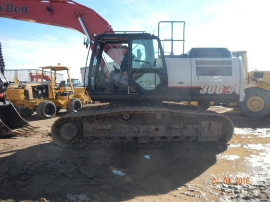 2016 Link Belt 300X4 Excavator-Track