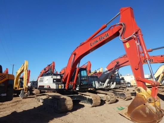 2016 Link Belt 300X4EX Excavator-Track