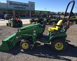 Tractor For Sale: 2015 John Deere 1025R, 25 HP