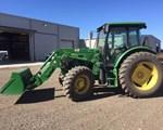 Tractor For Sale: 2012 John Deere 6115D, 115 HP