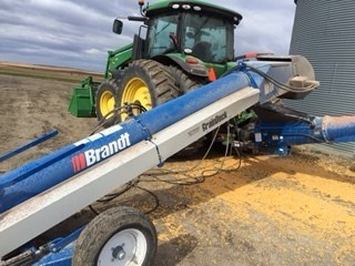 2012 Brandt DOUBLE TUBE DRIVE OVER Auger-Portable For Sale