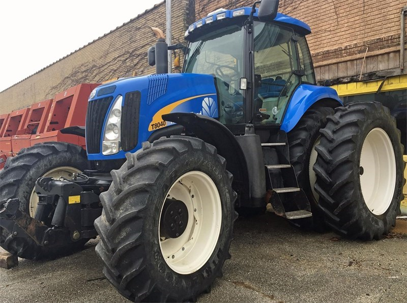 2011 New Holland T8040 Tractor For Sale