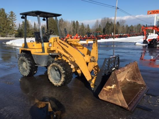 2004 Komatsu WA50-3E0 Wheel Loader For Sale