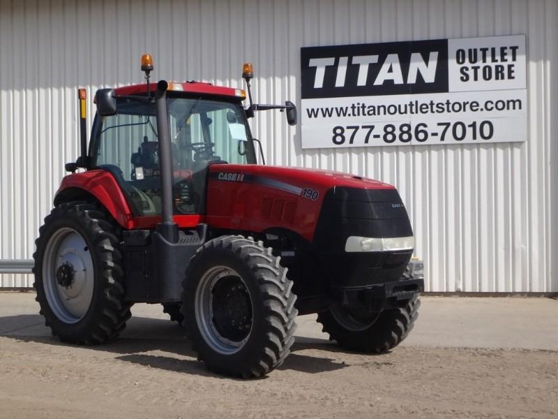 2011 Case IH 190, 1519 Hr, Lux Cab, Weights, Joystick Tractores a la venta