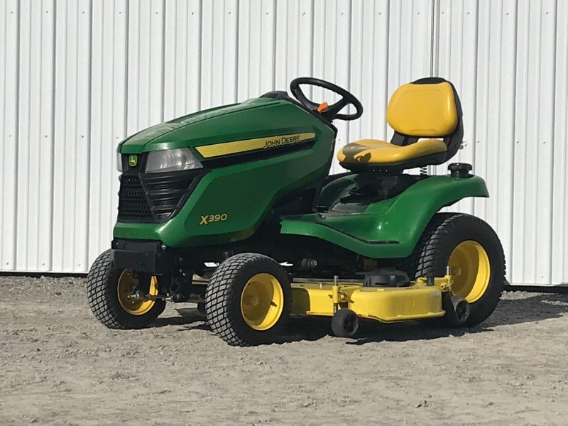 2016 John Deere X390 Riding Mower For Sale