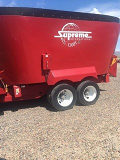 Feeder Wagon-Portable For Sale:  Supreme 1200T