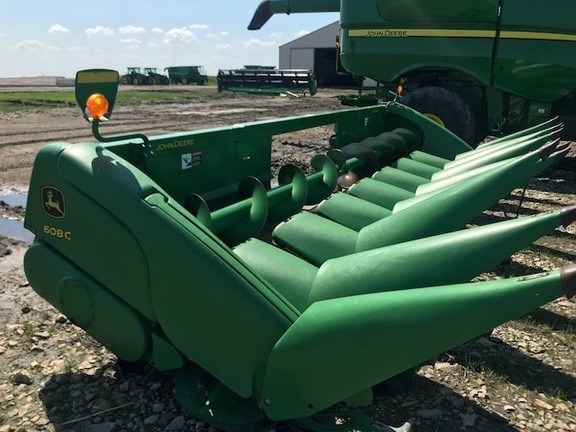 2010 John Deere 608C Stalkmaster Header-Corn For Sale