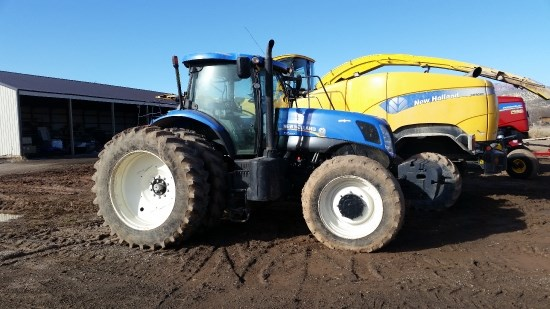 2011 New Holland T7.250 Tractor For Sale