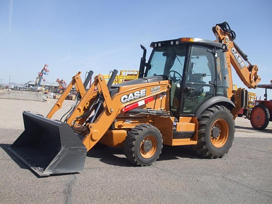 2015 Case 580SN Loader Backhoe