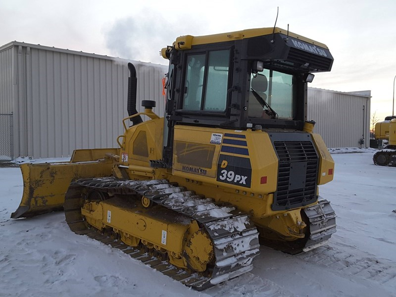 2015 Komatsu D39PX-23 Crawler Tractor For Sale