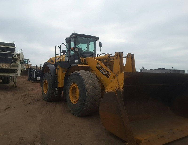 2014 Kawasaki 95Z7 Loader For Sale