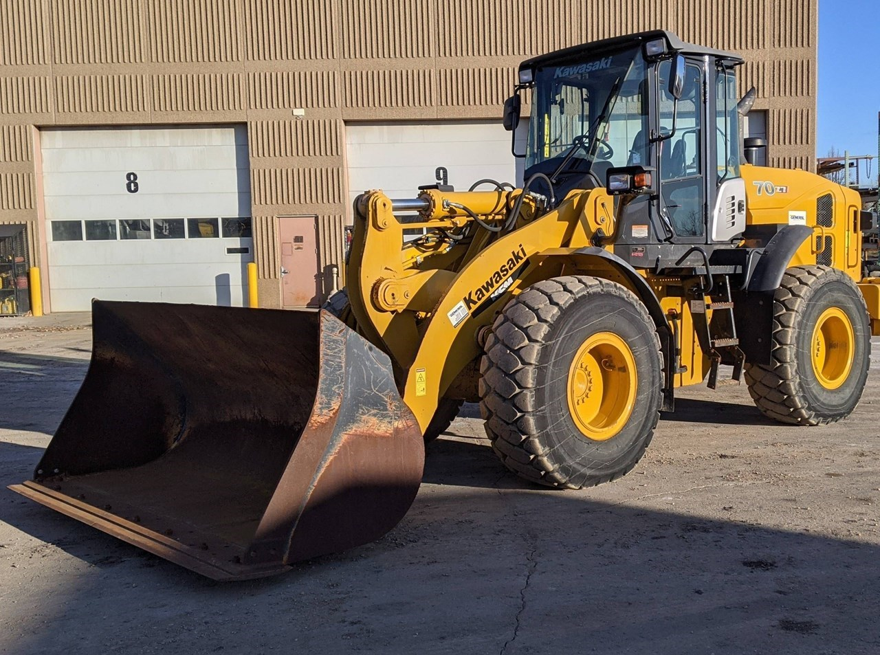 2014 Kawasaki 70Z7 Loader For Sale
