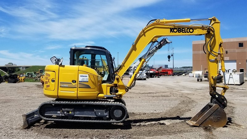 2014 Kobelco SK85CS-3E Excavator Mini For Sale