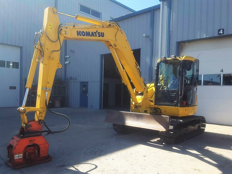 2014 Komatsu PC88MR-10 Excavator For Sale