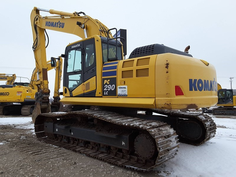 2015 Komatsu PC290LC-10 Excavator For Sale