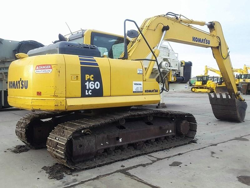 2012 Komatsu PC160LC-8 Excavator For Sale