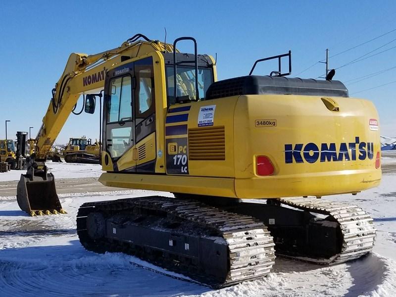 2016 Komatsu PC170LC-10 Excavator For Sale