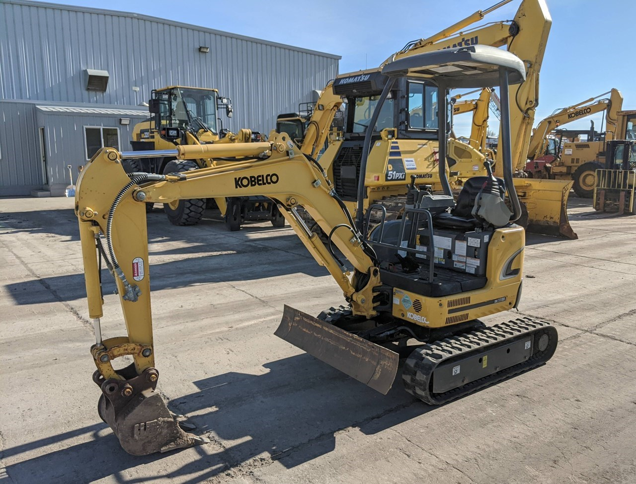 2015 Kobelco SK17SR-3 Excavator Mini For Sale