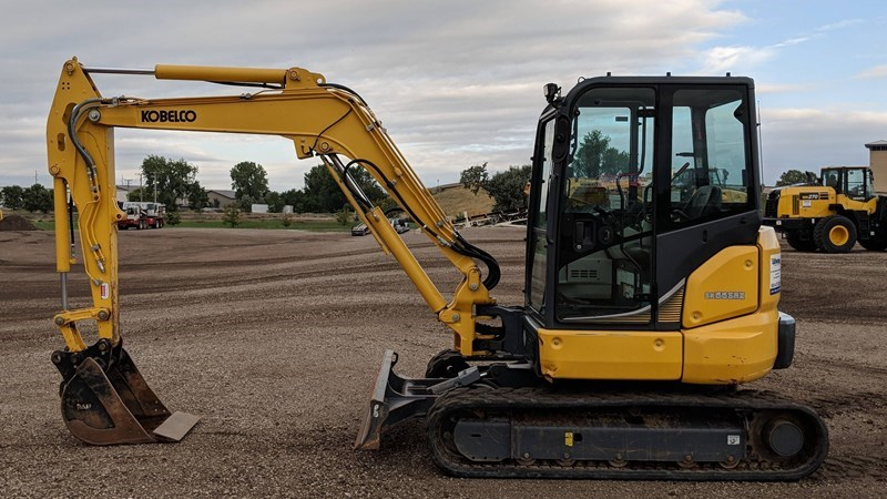 2015 Kobelco SK55SRX-6E Excavator Mini For Sale