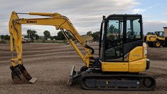 Excavator Mini For Sale:  2015 Kobelco SK55SRX-6E