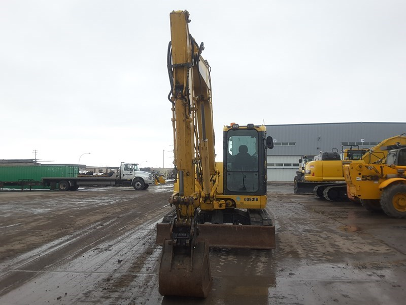 2009 Komatsu PC88MR-8 Excavator For Sale
