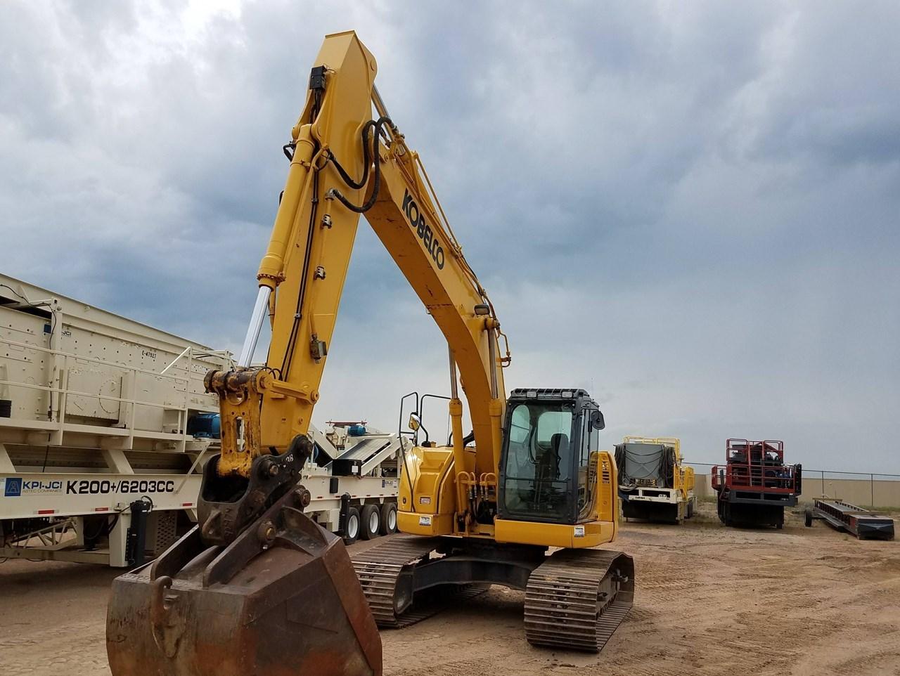 2016 Kobelco SK230SRLC-3 Excavator For Sale