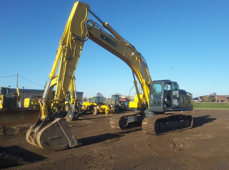 2016 Kobelco SK350LC-9E Excavator For Sale
