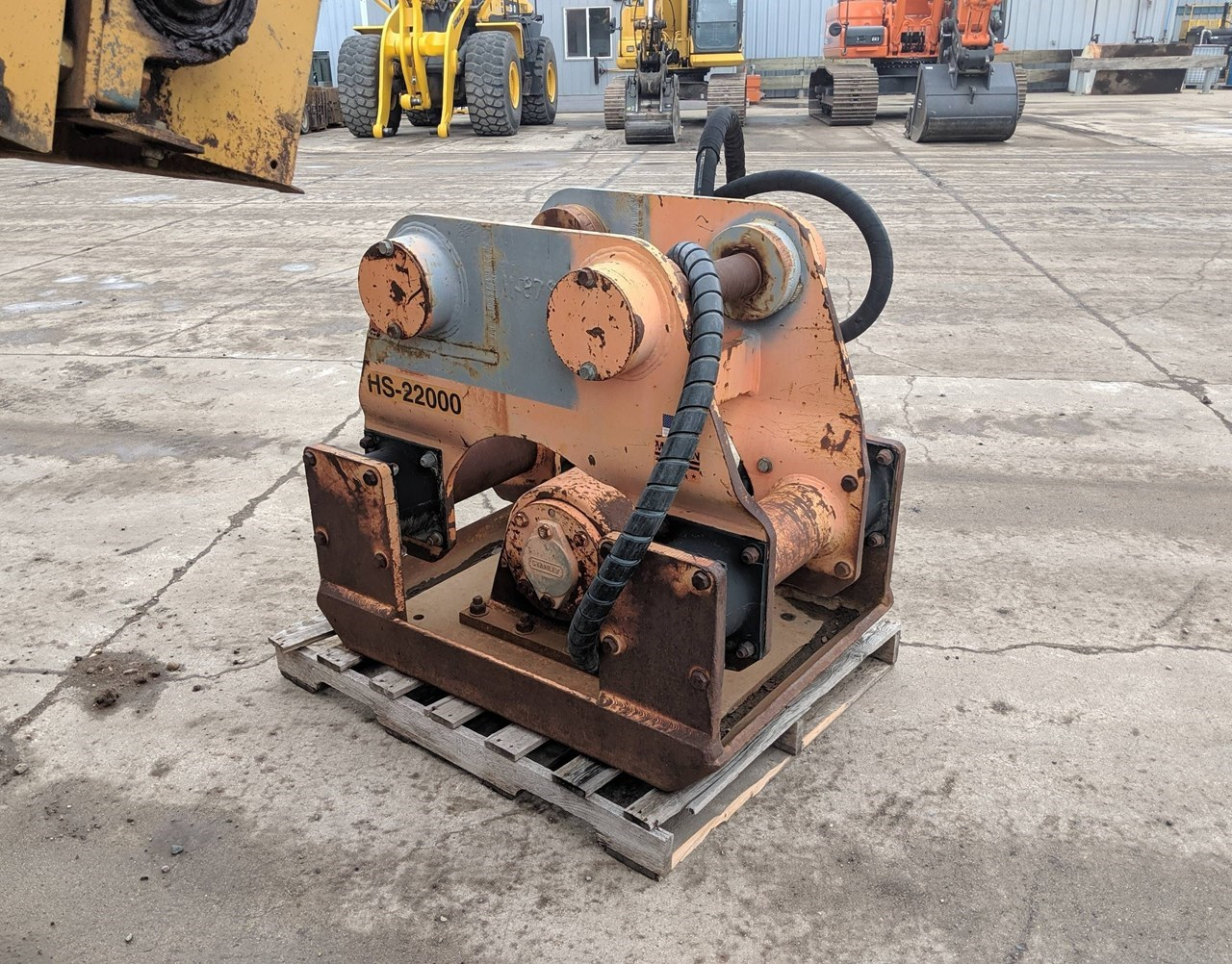 Stanley HS22000 Plate Compactor For Sale