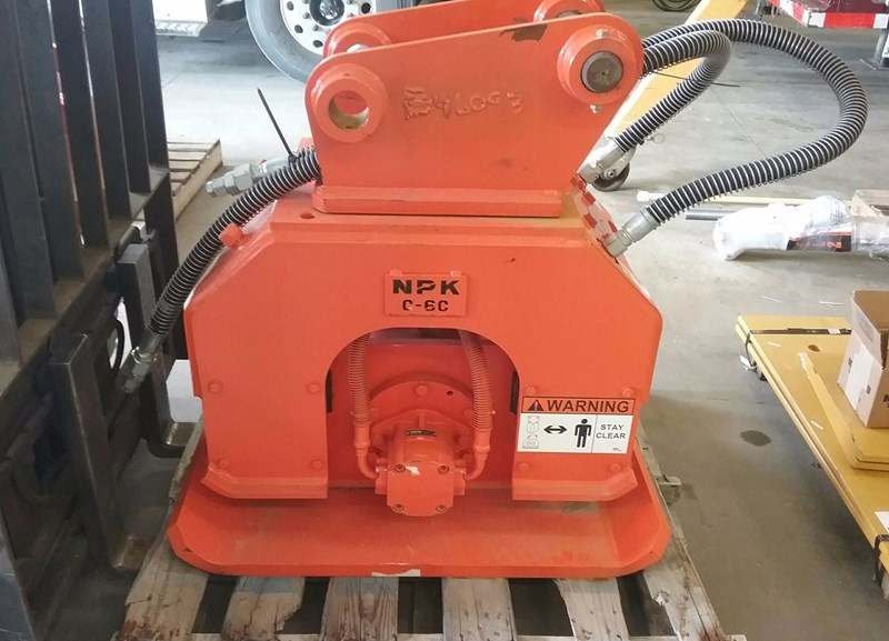 2015 NPK C-6C Plate Compactor For Sale