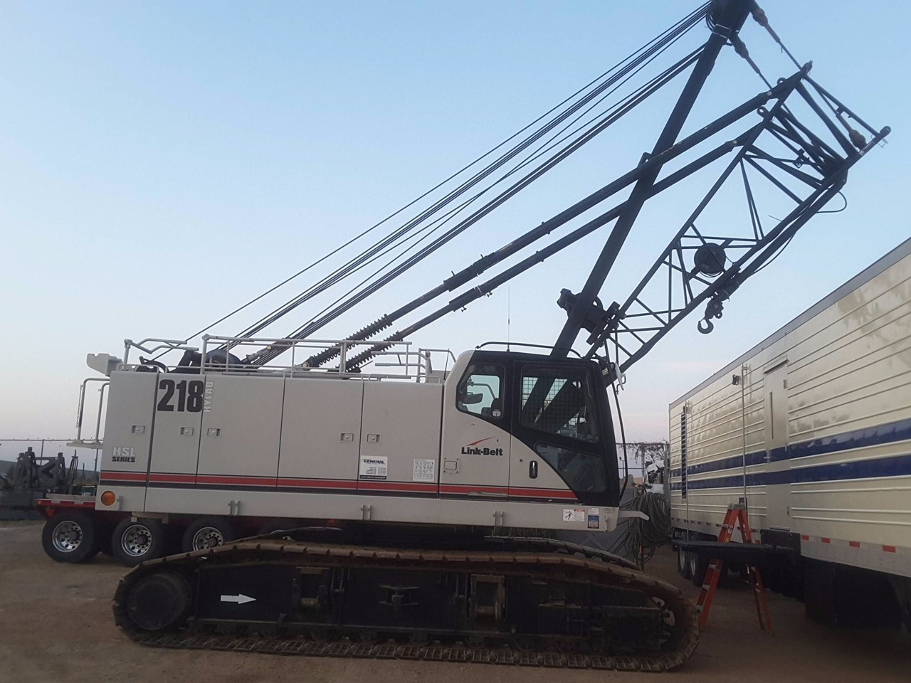 2014 Link Belt 218 HSL Crane For Sale